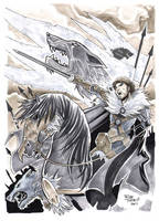 King in the North by Silvenger