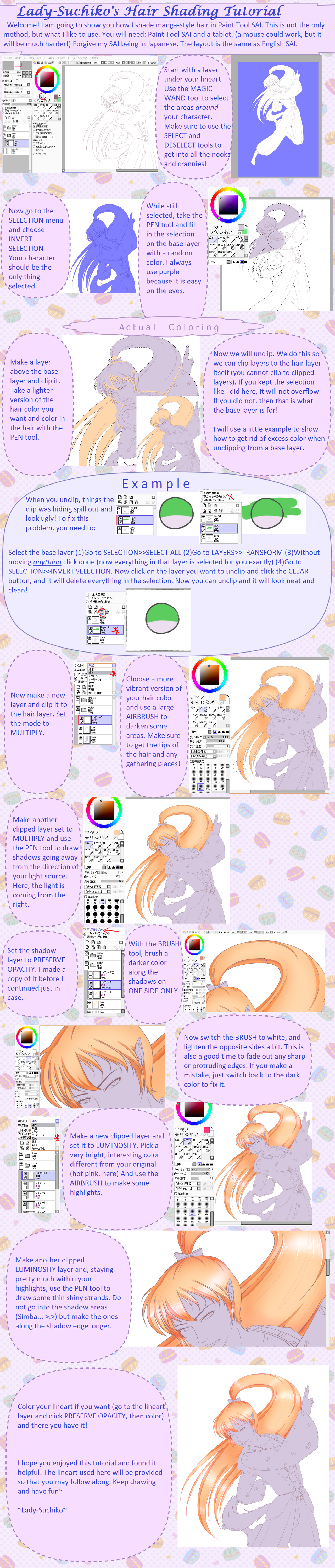 Hair Shading Tutorial (OUTDATED! *See new*) by Lady-Suchiko