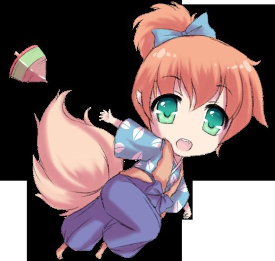 Shippo chibi by Lady-Suchiko