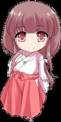 Kikyo chibi by Lady-Suchiko