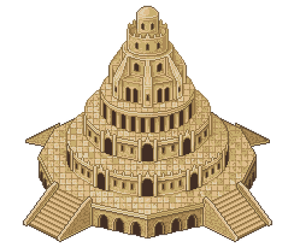 The Pixel Tower of Babel