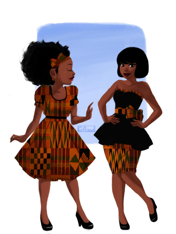Ghana girls by Giftieat