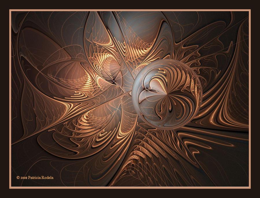 Bronze Orb by PatriciaRodelaArtist