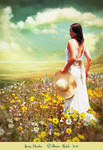 Spring Meadow by PatriciaRodelaArtist