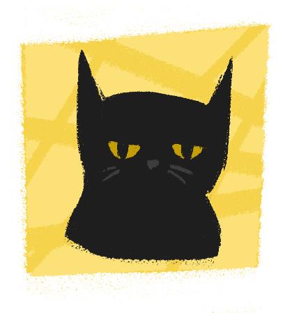 Bored Cat by vampirassassina