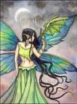 Emerald Dragon by Molly Harrison