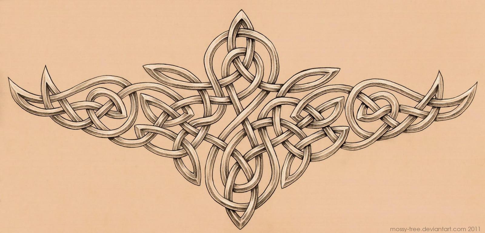 celtic knotwork tattoo by mossy tree on deviantart. Black Bedroom Furniture Sets. Home Design Ideas
