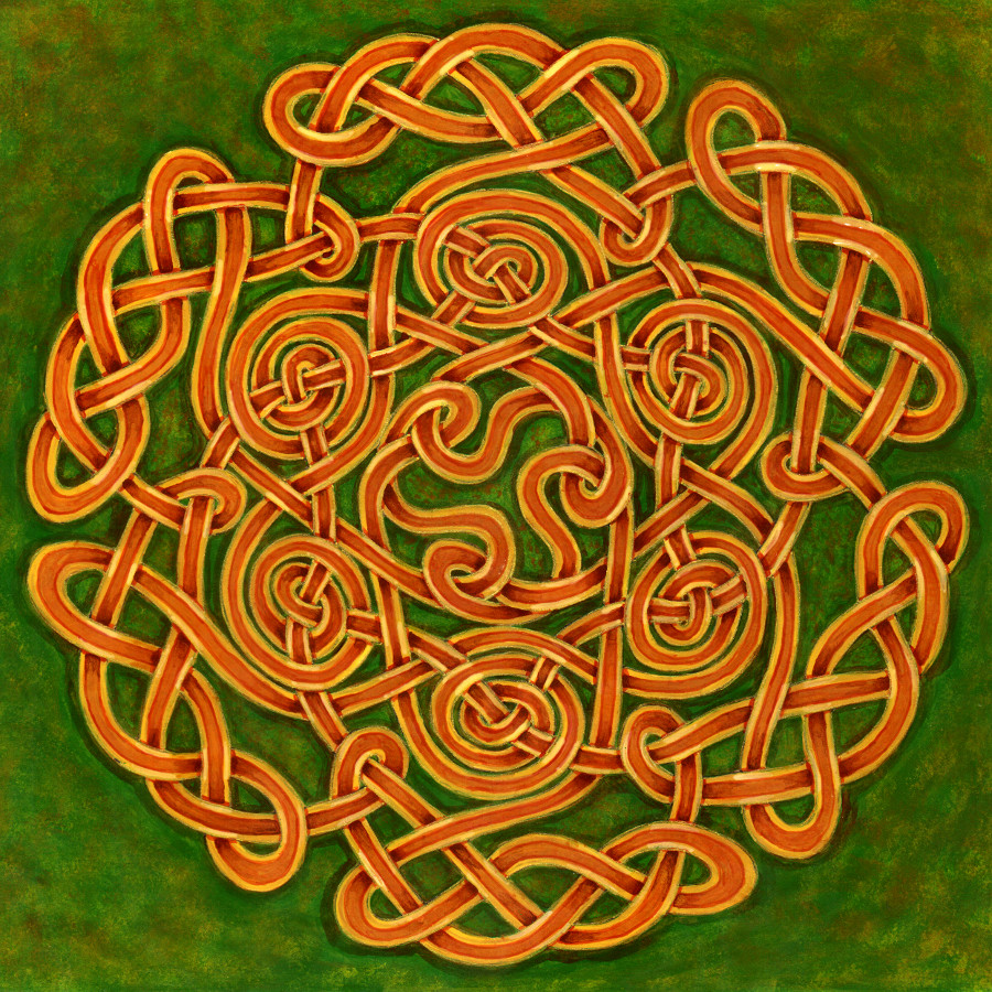 Celtic Knots By Mossy Tree