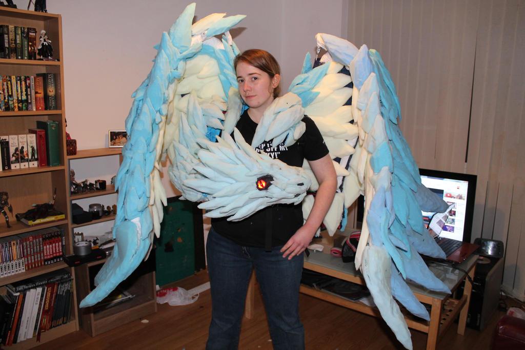 how to make morrigan wings