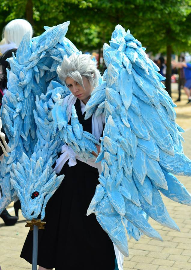 Bleach Toshiro Hitsugaya Bankai By Smallfry09