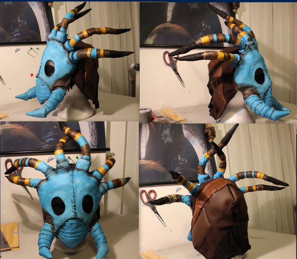 Valka finiah mask from HTTYD by smallfry09