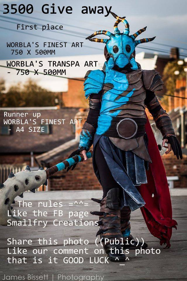 GIVE AWAY Worbla ^_^ by smallfry09