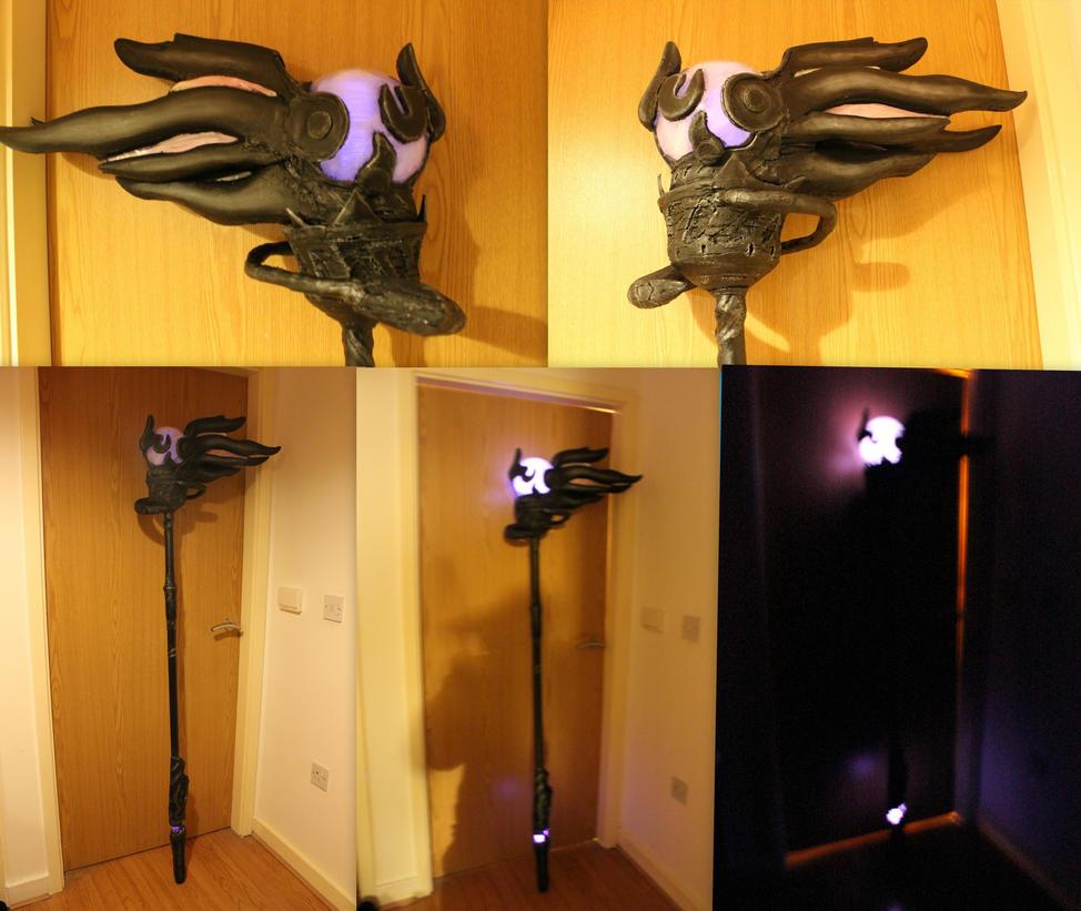 Dark mage staff by smallfry09