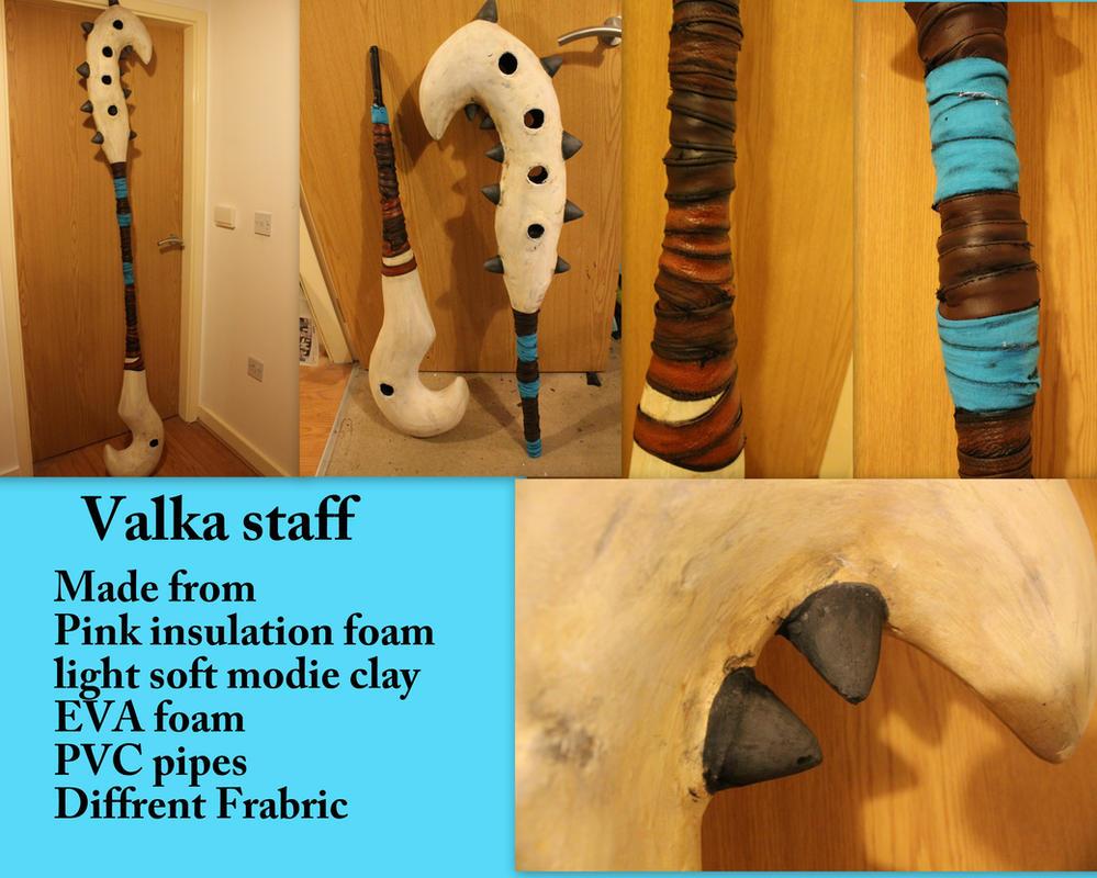 Valka Staff HTTYD 2 by smallfry09