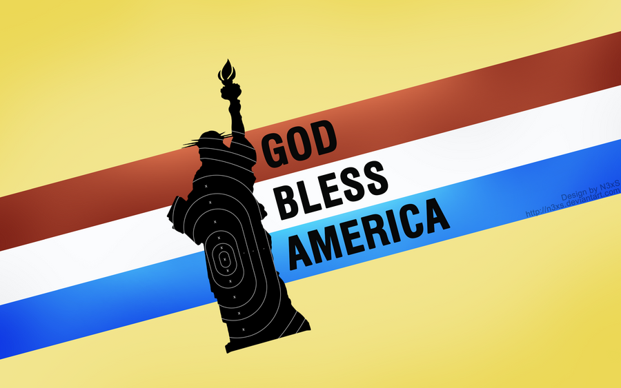 God Bless America Wallpaper by N3xS