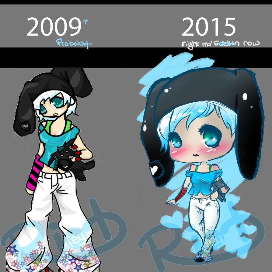 Then and Now by RileyRiot