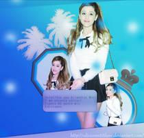 Ariana Grande!Sos lo mas by TheFantasyOfMyDream