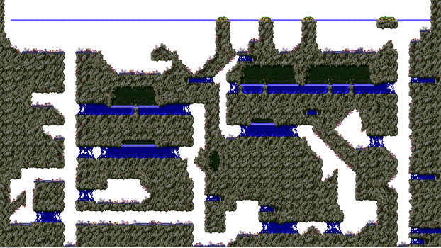 The Vents Foreground Level Map