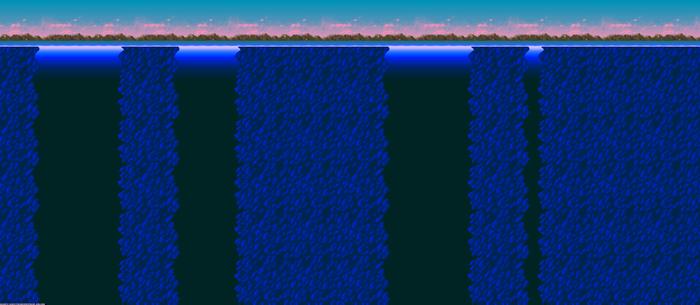 Trilobite Circle Background Level Map