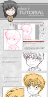 My Drawing Process Tutorial by nihase