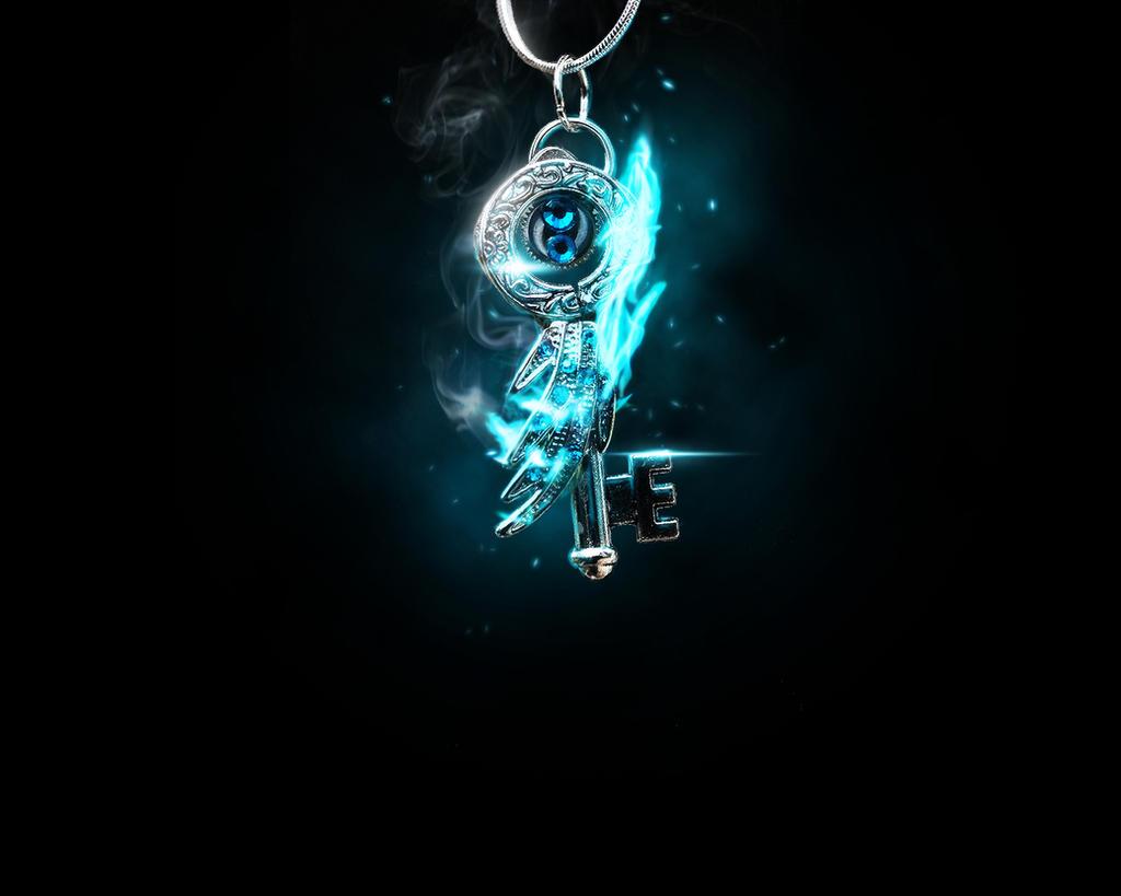Blue Fire Key by Xiox231