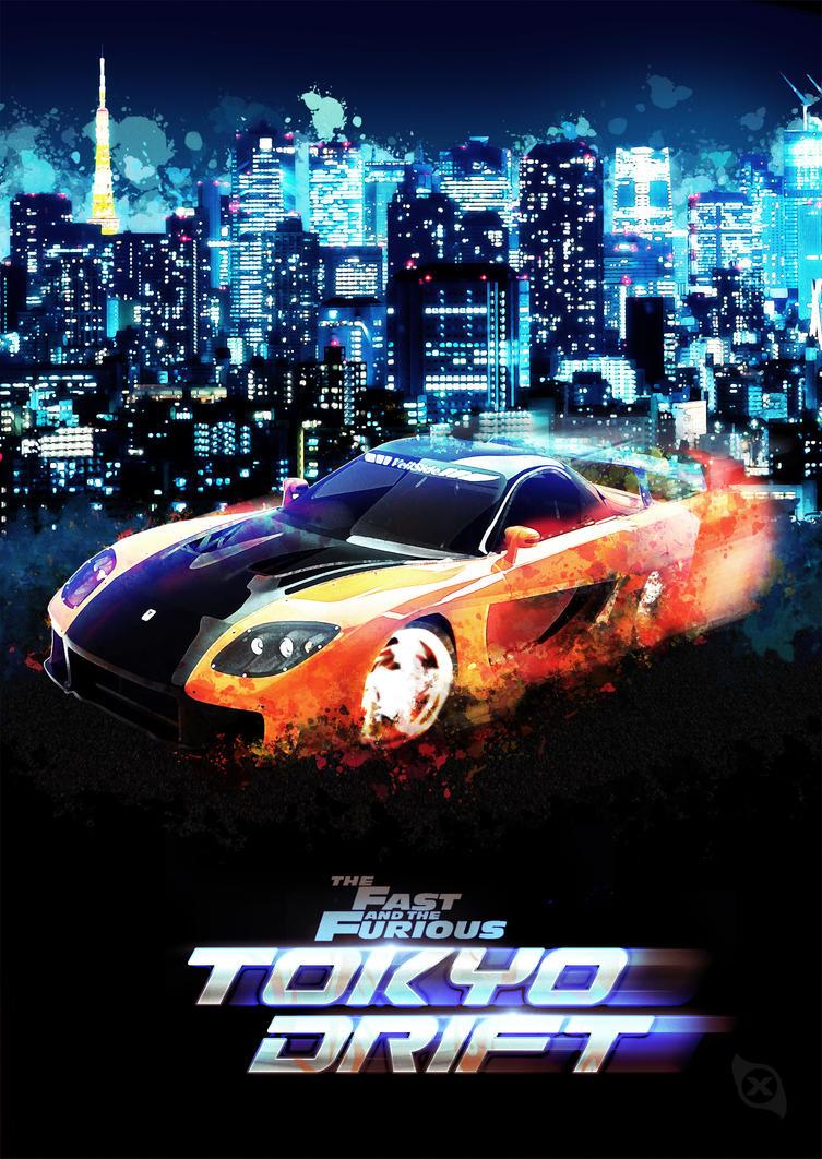 Tokyo Drift Poster by Xiox231 on DeviantArt