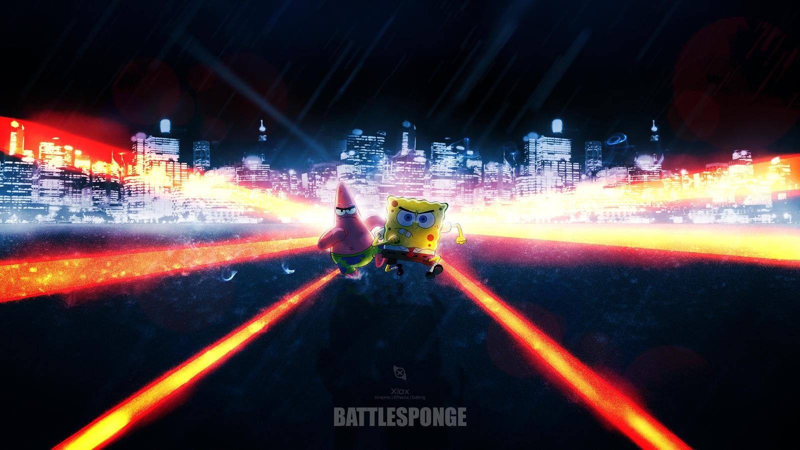 BattleSponge by Xiox231