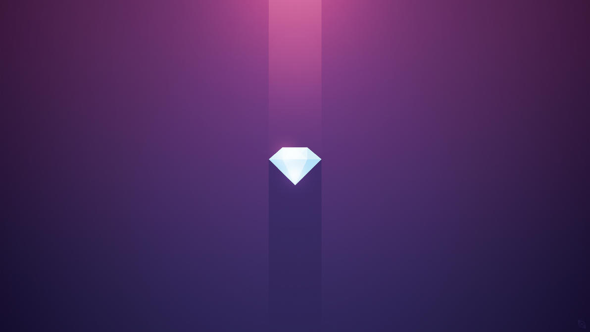 Floating Diamond Wallpaper by Xiox231