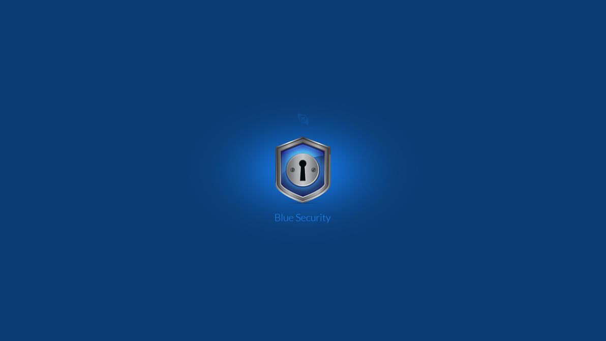 Blue Security Icon/Logo by Xiox231