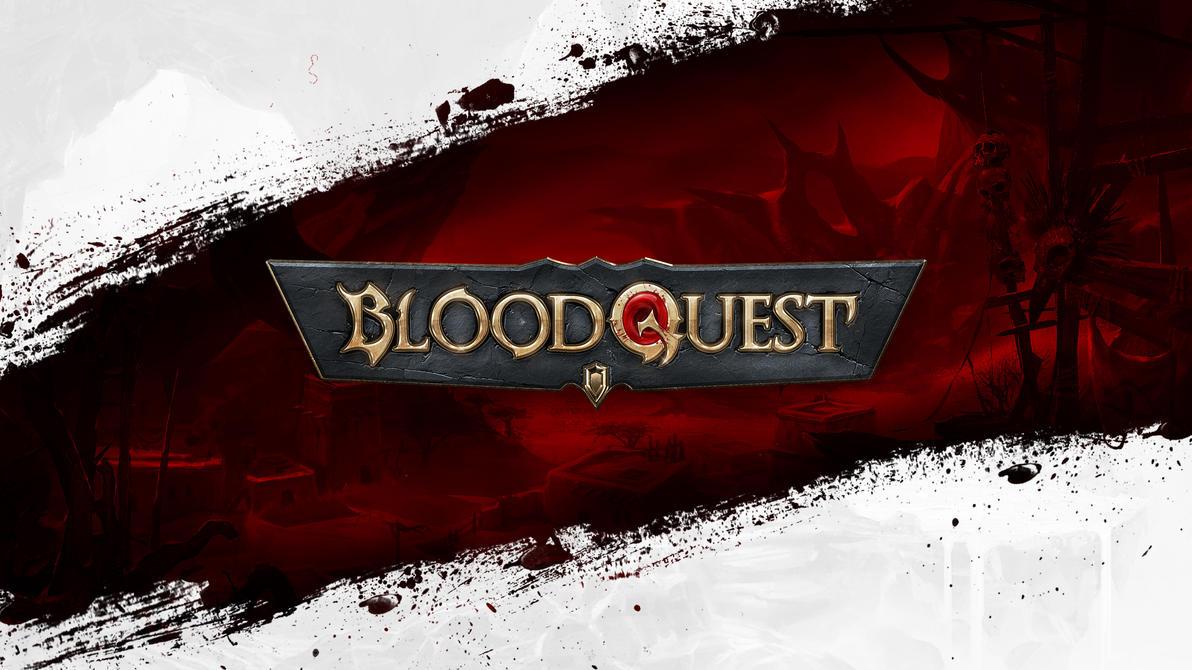 BloodQuest Logo by Xiox231