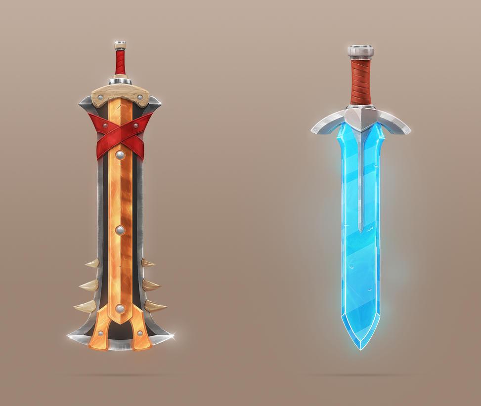 Swords by Xiox231