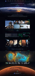 NASA Website Redesign by Xiox231