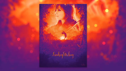 Lindsey Stirling Fan Poster by Xiox231