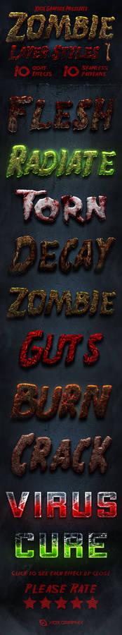 Zombie Layer Styles 1