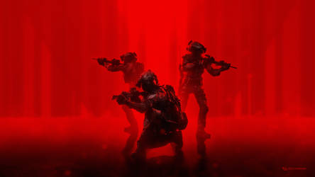 Red Ops 4K Wallpaper