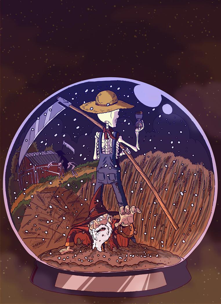 Reaper Man by rsienicki