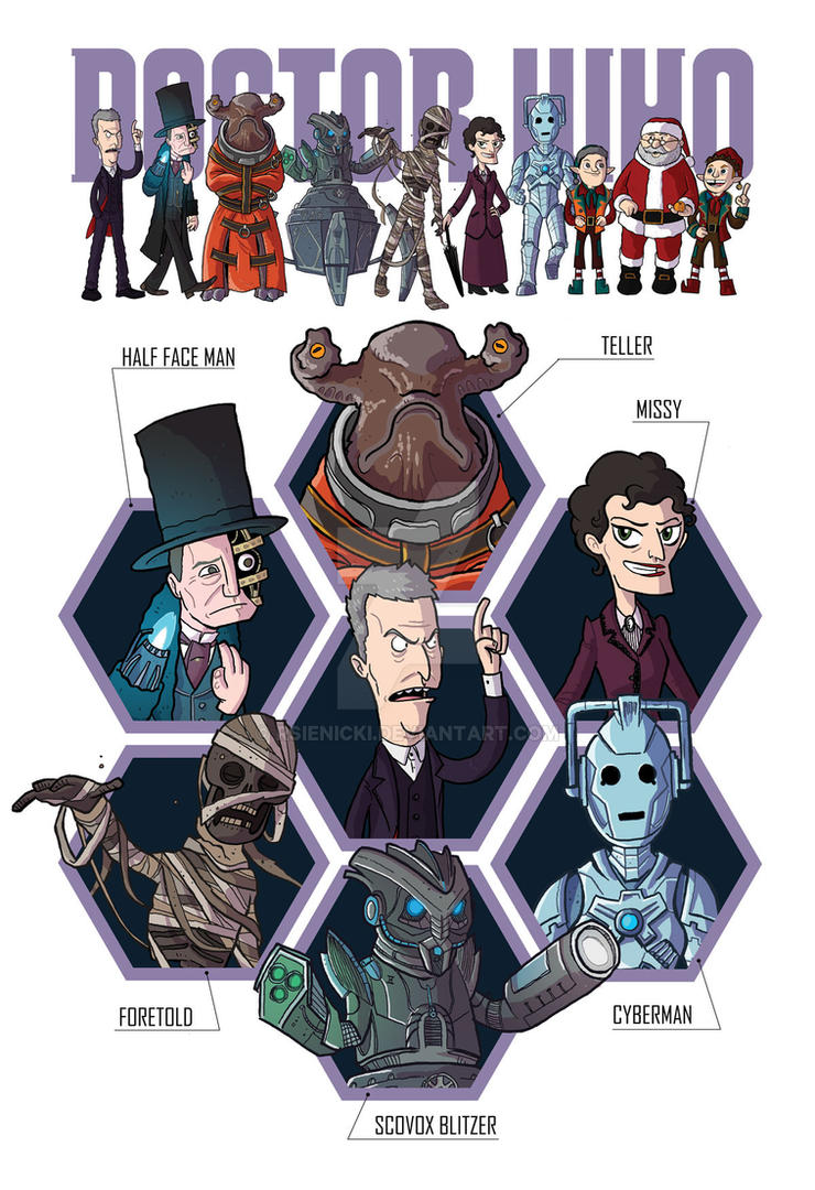 Doctor Who (series 8) by rsienicki
