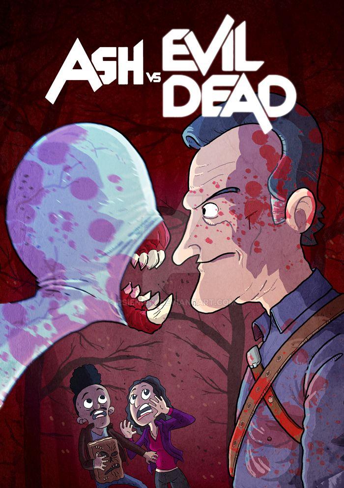 Ash vs Evil Dead by rsienicki