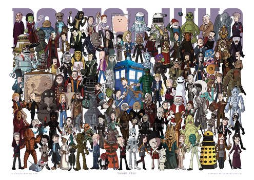 123 Doctor Who characters