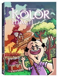 Terry Pratchett's COLOUR OF MAGIC