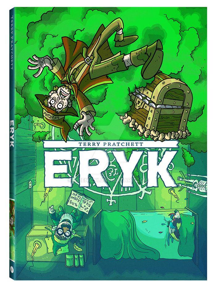 Terry Pratchett's ERIC by rsienicki