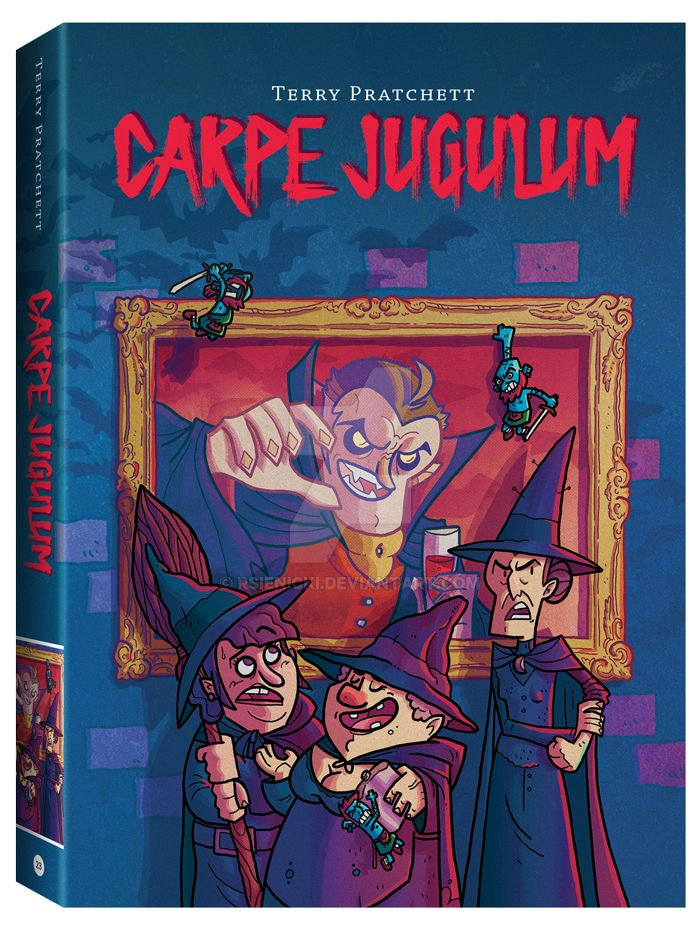 Terry Pratchett's CARPE JUGULUM by rsienicki