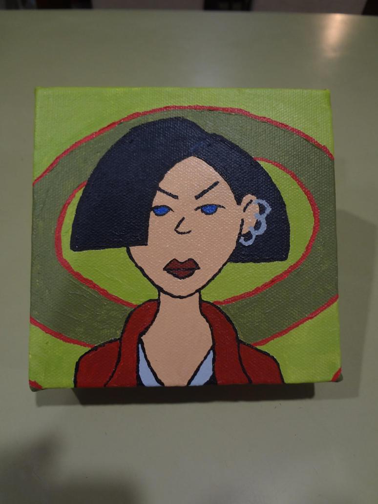 Jane Lane on canvas by shaunC