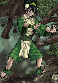 Toph Beifong In The Swamp