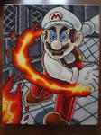 Fire Mario Acrylics 2018