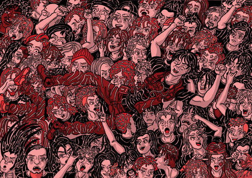 Maurice And The Metal Moshpit RED
