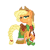 Applejack Gala Pixel by JJA79