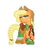 Applejack Gala Pixel by JJA79
