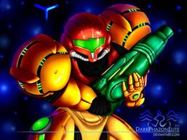 Samus Aran, Metroid Prime 2 by PhazeyArt