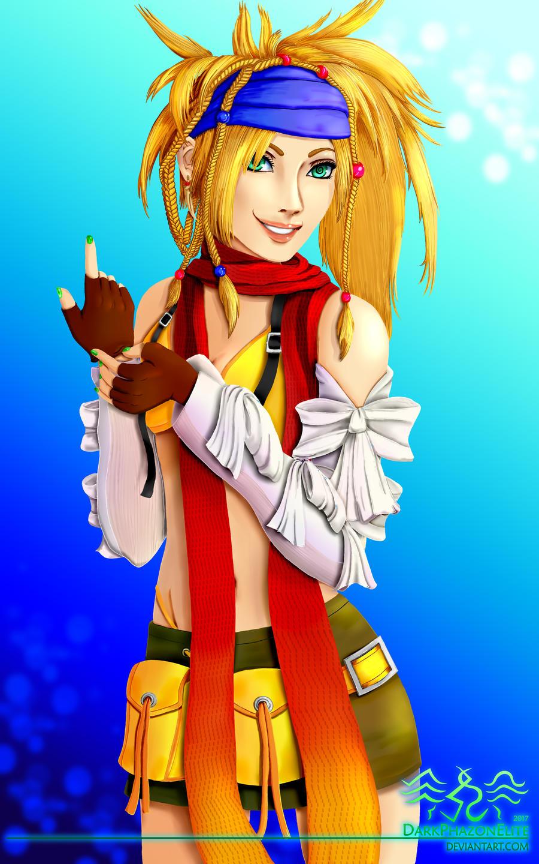 Final Fantasy X Wallpaper: Rikku   Binary v.2 - Minitokyo
